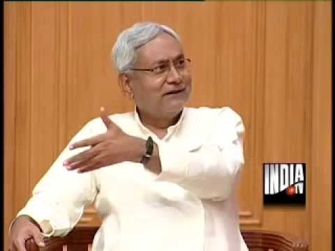 Bihar CM Nitish Kumar In Aap Ki Adalat (Part 1) - India TV