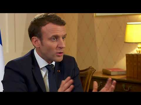 News Update French President says Donald Trump is not a 'classical politician' 21/01/18