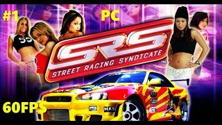 Street Racing Syndicate PC Intro First Races Gameplay #1 60FPS GTX 950M