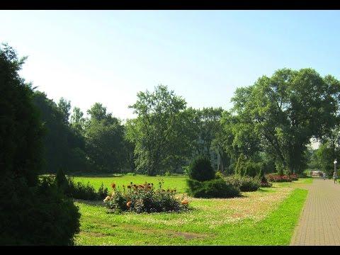 Минск Беларусь  Ботанический сад /Minsk Belarus Botanical garden