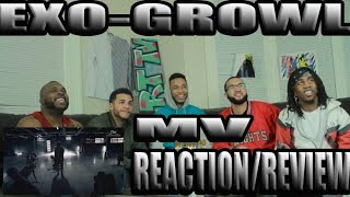 EXO-GROWL M/V REACTION/ REVIEW