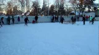 Осиповичи. Ледовый каток-1. 27.01.2013