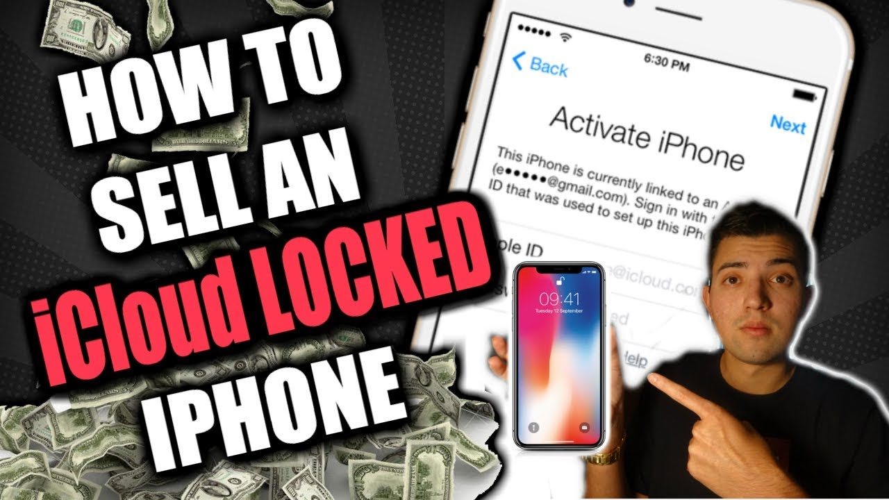 How To Sell An Icloud Locked Iphone On Ebay Youtube