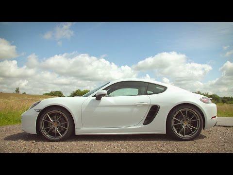 2017 Porsche 718 Cayman Carrera White Exterior, Interior and Drive