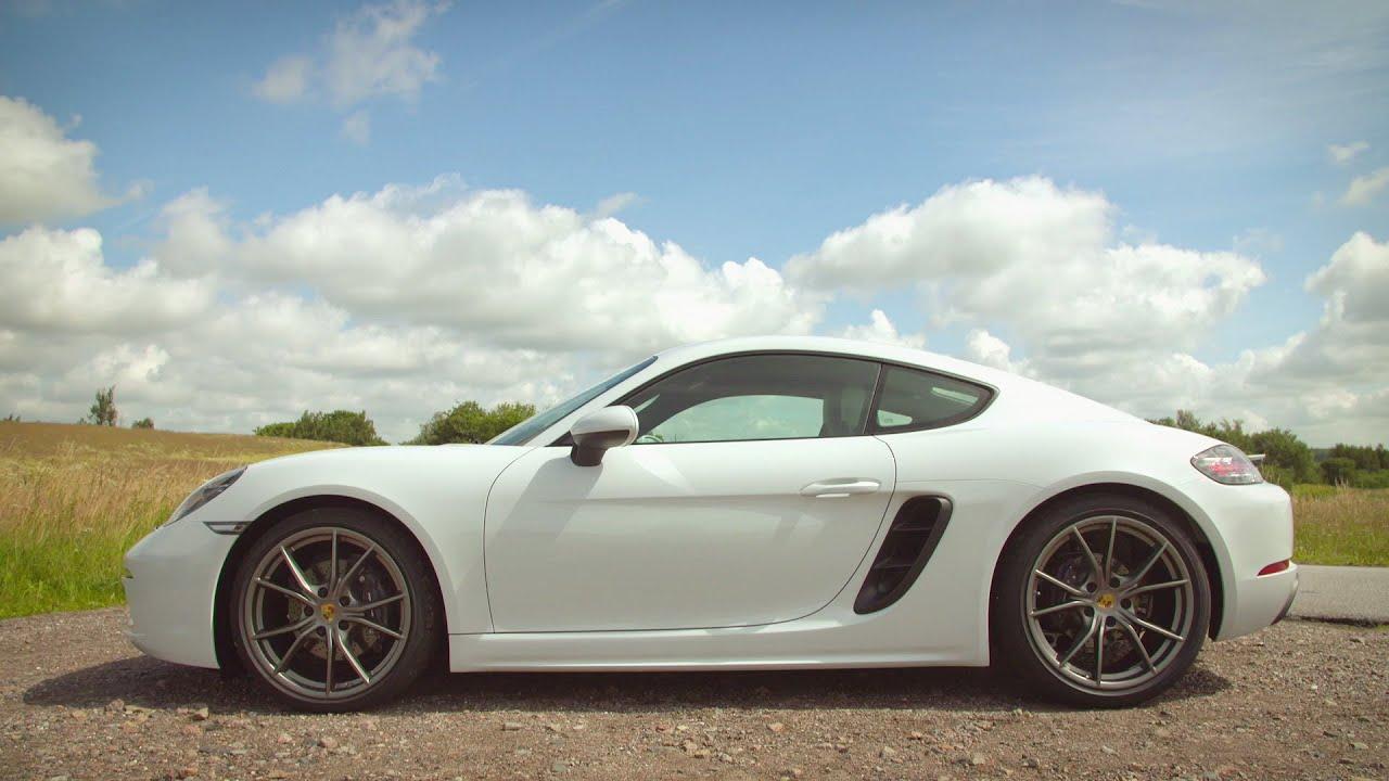 2017 Porsche 718 Cayman Carrera White Exterior Interior And Drive