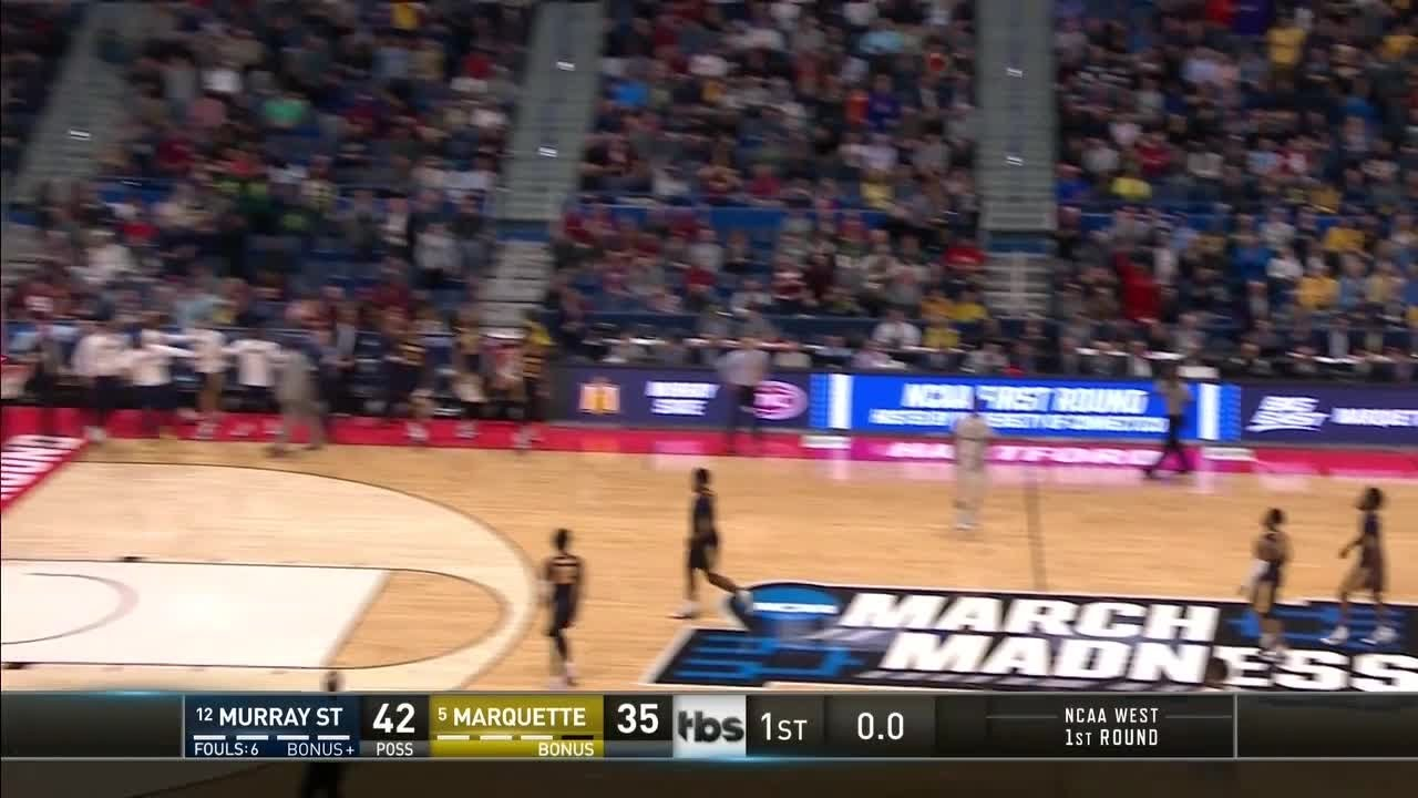 NCAA Tournament Live: Marquette-Murray State