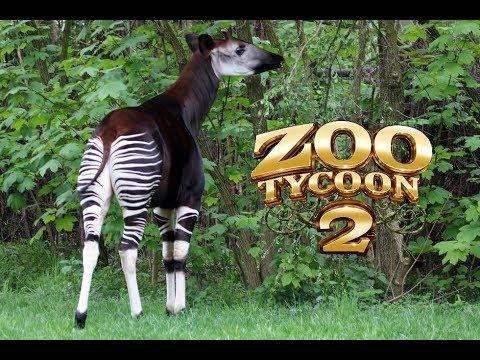 zoo tycoon 2: Okapi exhibit part 1 of 2