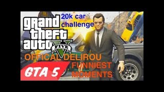 Grand Theft auto 5 20k car building challenge part 1 / the guys Sean, Sark, and Alex