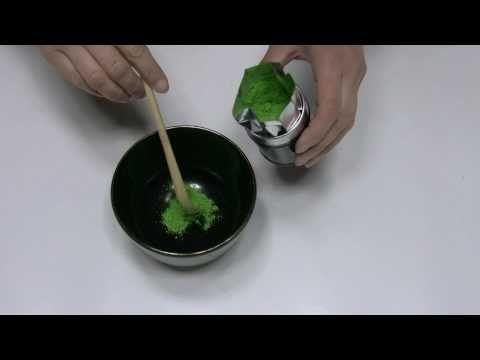 簡単なお濃茶の練り方(作り方) How to make thick matcha Theanin style