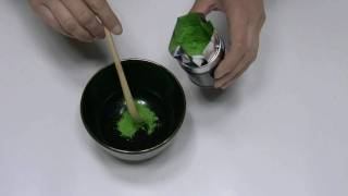 簡単なお濃茶の練り方(作り方) How to make thick matcha  Theanin style thumbnail