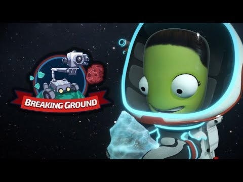 Kerbal Space Program: Breaking Ground Enhanced Expansion on Console - Official Gameplay Trailer