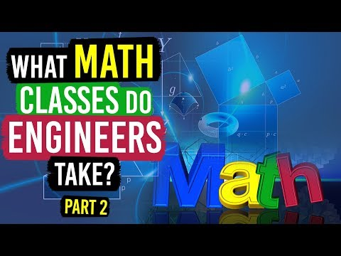 What Math Classes do Engineers (and Physics Majors) Take? (Part 2)