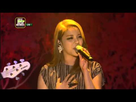 121214 Ailee - Heaven @ 2012 Melon Music Awards