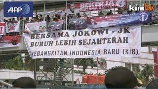 Indonesia inaugurates outsider Widodo as president
