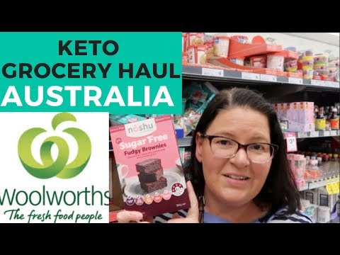 Woolworths Keto Grocery Haul | Australian Keto Products