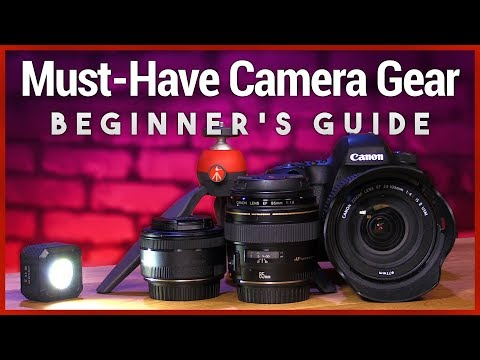 Must-Have Camera Gear for Photography Beginners