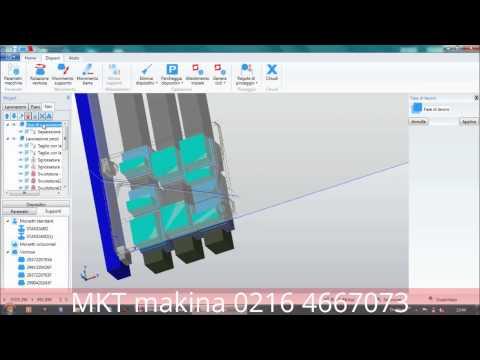 mkt makina morbidelli ve scm cnc makinaları için maestro software
