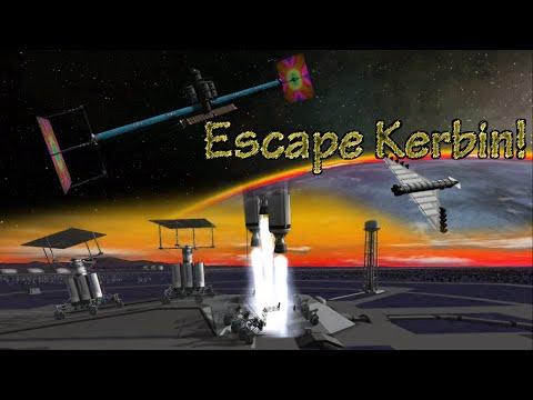 Evacuate Kerbin! | KSP Short Film