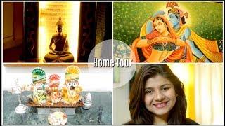 My Organised Indian living Room Tour | इंडियन अपार्टमेंट टूर एंड डेकोरेशन