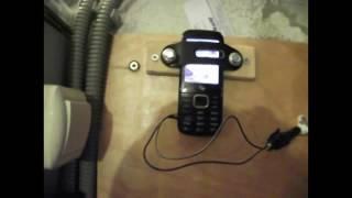 видео GSM Сигнализация из старого мобильника