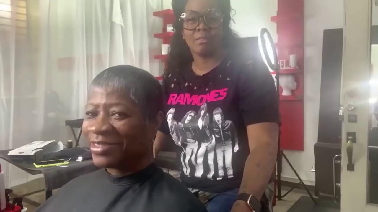 Pixie Cut Short Hair Styling For Black Women | Live In Dallas Salon