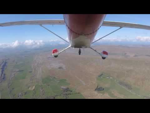 Cessna 172 flight from EGNG Bagby Airfield to Lake Windermere, Lake District, UK