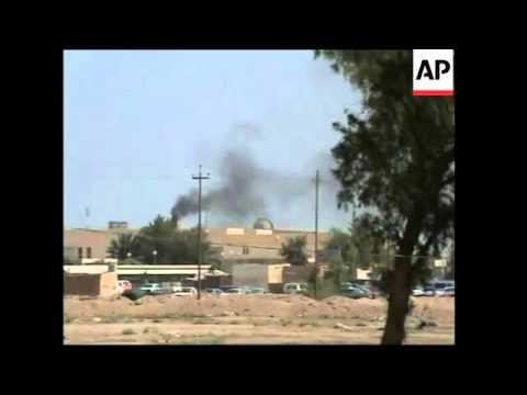 WRAP Najaf violence, tension in Baghdad and Nasiriyah