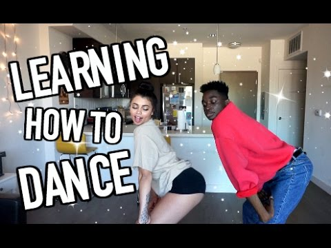 LEARNING HOW TO DANCE WITH RICKEY (im ACTUALLY trying too)