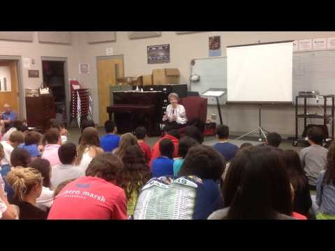 Holocaust Survivor Speaks at DMS PART II
