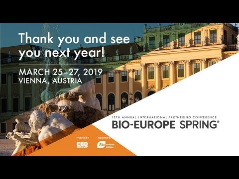 BIO-Europe Spring® 2018 in Amsterdam - Biotech, pharma and finance partnering conference