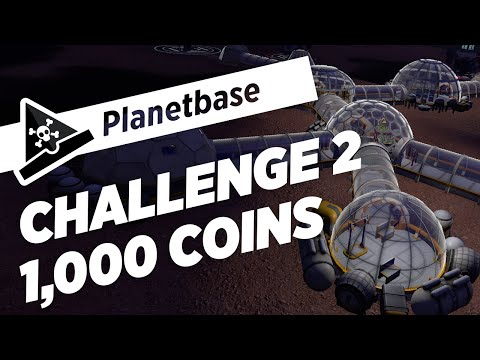 CHALLENGE 2: 1,000 COINS - s7 ep1 - Let's Play Planet Base Gameplay