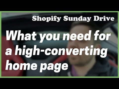 [Shopify] What Every High-Converting Home Page Must-Have