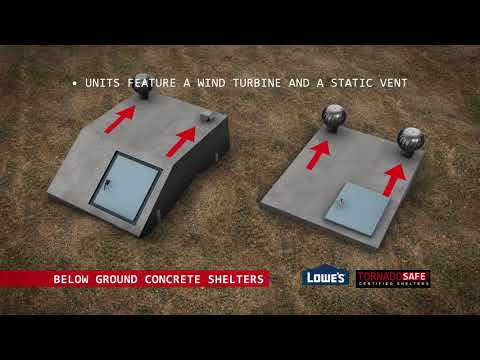 Tornado Safe Below-ground Storm Shelters! Keep Your Family Safe During Tornado Season