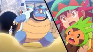 #Pokemonxy Pokemon XY tiến hóa Mega mạnh mẽ Mega Lizardon vs Mega Kamex