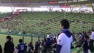 2014年3月22日(土) 西武ドーム 西武VS横浜 オープン戦での埼玉西武ライ...