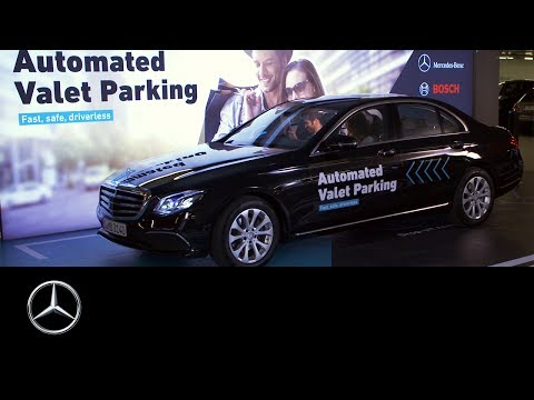 Automated Valet Parking Lauched In Germany
