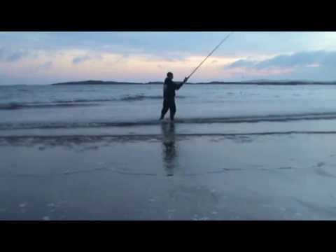 Beach Fishing At Rhosneigr, Anglesey