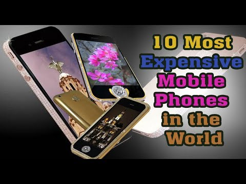 Top 10 Most Expensive Mobile Phones in the world-2017 ... Most Expensive Cell Phone In The World 2017