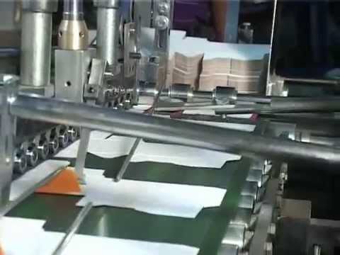 Vaibhav Sharma Carton Folding And Gluing Machine Youtube
