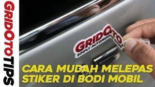Cara Mudah Melepas  Stiker di Bodi Mobil I How To I GridOto Tips