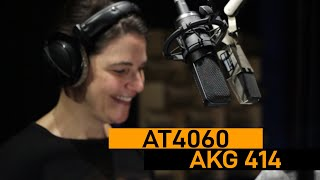 AKG 414 vs. Audio-Technica 4060 | VO Mic Comparison