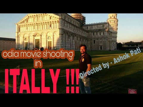 odia movie shooting in ITALY 😱😱 !!! Director-ASHOK PATI