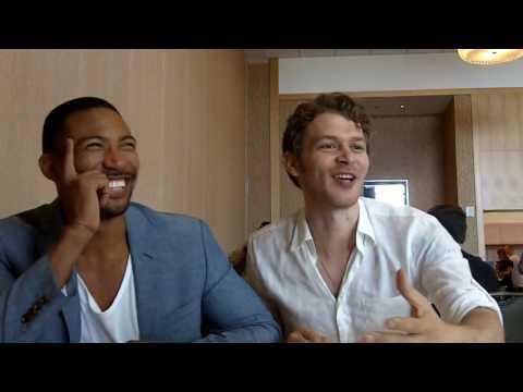 SDCC 2016: Joseph Morgan (Klaus) and Charles Michael Davis (Marcel)