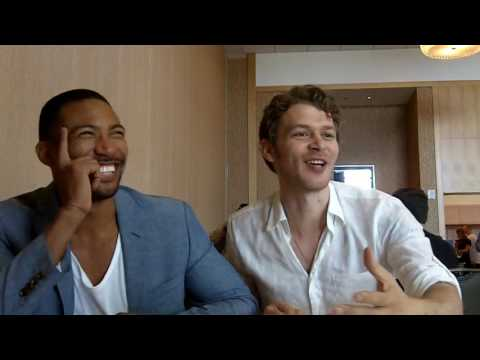 SDCC 2016: Joseph Morgan Klaus and Charles Michael Davis Marcel