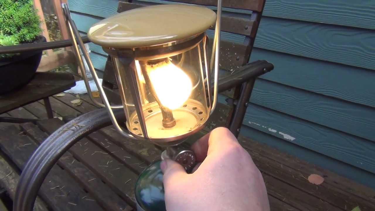 Old Primus Propane Lantern Part 1