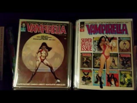 Vampirella Collection Update + Huge Trade!
