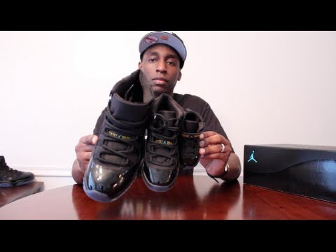 f6e72d8b567 Difference Between Kids And Mens Gamma Blue Jordan 11 Retro - YouTube
