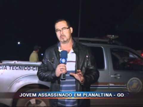 Jovem assassinado em Planaltina de Goiás - DF ALERTA - 16/01/2012