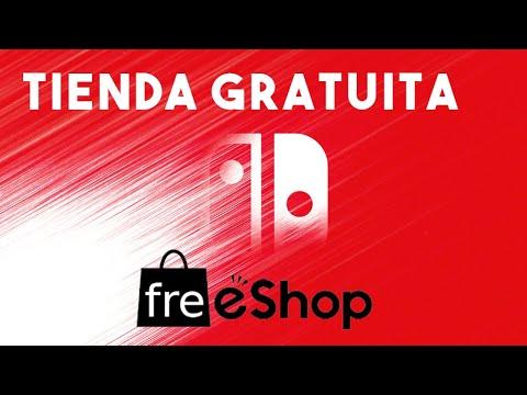 TUTORIAL FreeShop switch tienda Gratuita Online NXshop castellano
