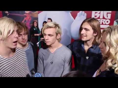 Big Hero 6 Premiere: R5-- Talks about their hopes for 2015!